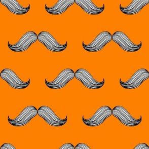 Orange Moustache