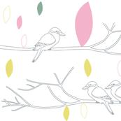 Kookaburras at Dusk