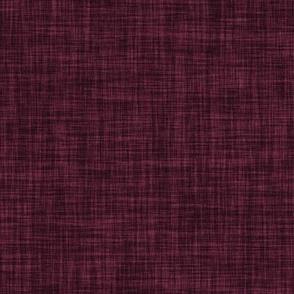 linen solid // plum
