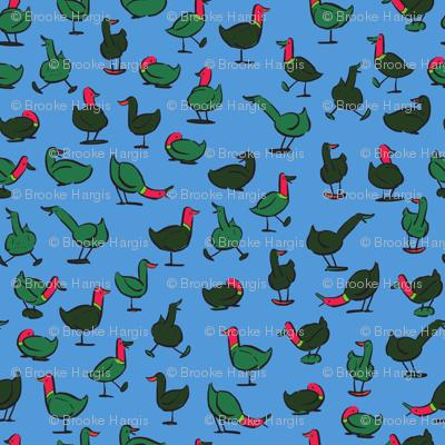 Teach Me How To Ducky: Blue