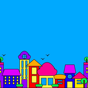 candy cityscape