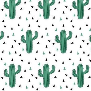 Cactus Triangle Green