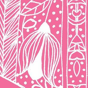 Swiss repeat in Pastel Pink