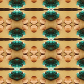 Turquoise with Six Leaves