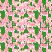 Zebras_green_and_pink