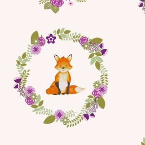 fox_and_flowers-purple