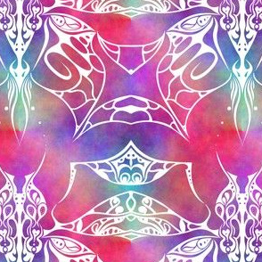 Tribal Plasma Butterfly