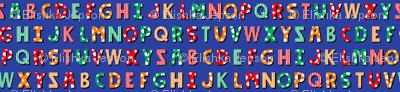 Circus Alphabet (Dark)
