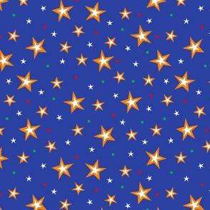 Circus Stars (Dark Blue)
