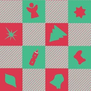 #SAGE Christmas Checkers
