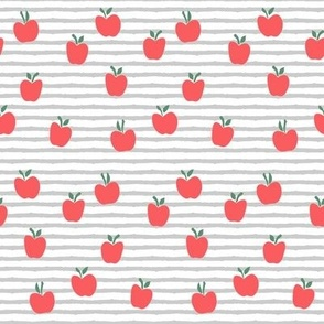 apple picking - grey stripes