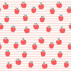 apple picking - rose stripes