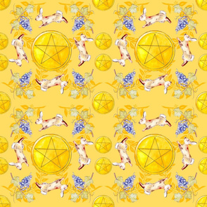Pentacles Yellow