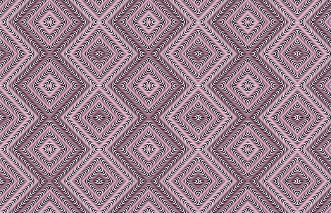Optic Waves Pink and Black  fabric by the_design_house on Spoonflower - custom fabric