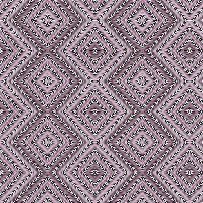 Optic Waves Pink and Black