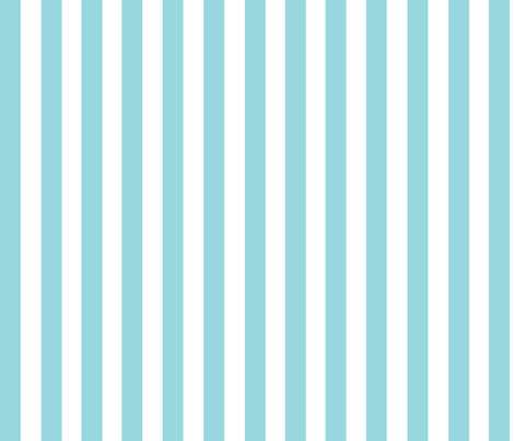 Blue and white stripes large // trendy kids nursery baby boy sea ocean marine nautical paradise island curtains bedding crib sheet fabric by designerbyheart on Spoonflower - custom fabric