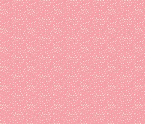 Silver Dots on Carnation Pink - Medium Scale fabric by rhondadesigns on Spoonflower - custom fabric