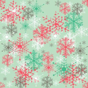 #SAGE Christmas A Forest of Snowflakes