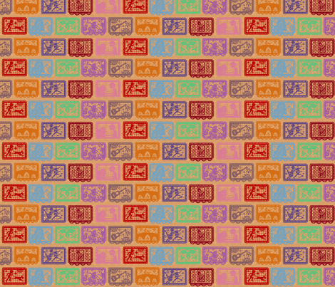 Story Banners Small 001 fabric by lowa84 on Spoonflower - custom fabric