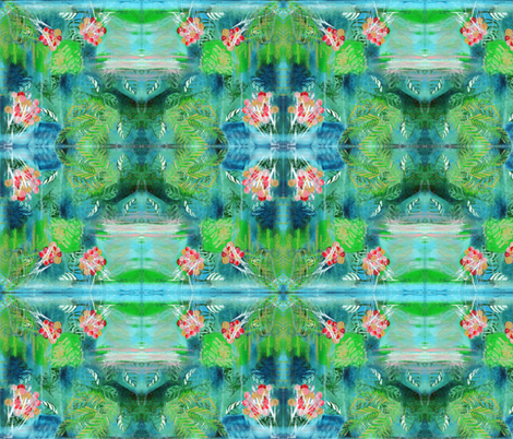 TropicalFantasy3 fabric by byoungquist on Spoonflower - custom fabric
