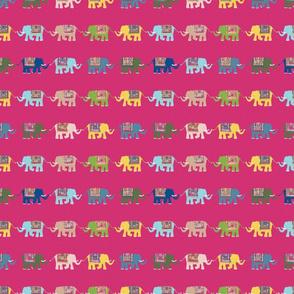 Elephant Rows (modern fashion)