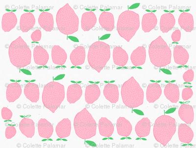 Pink Lemonade on White