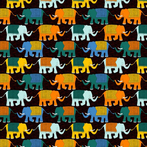 Elephant Check (circus dark)