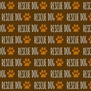 Rescue Dog Mocha