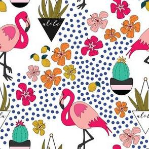 Tropical-Summer-Flamingos-Lemons-Hibiscus-Cactus