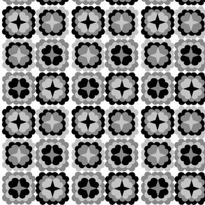 Monochrome_Black_Retro_Flowers