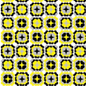 Bumblebee_Retro_Flowers