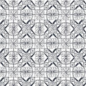 square fabric tile