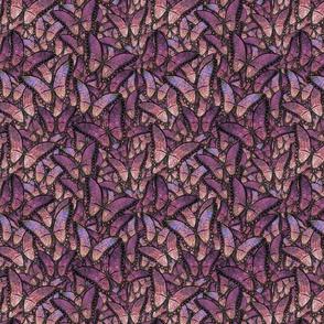 butterfly kaleidoscope - purple dancers