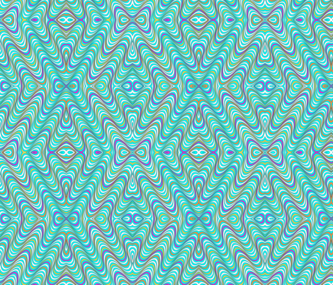 Optic Waves Multi fabric by the_design_house on Spoonflower - custom fabric