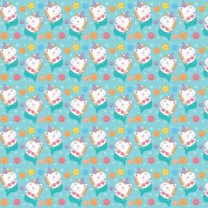 Mini Mernicorns Micro Pattern