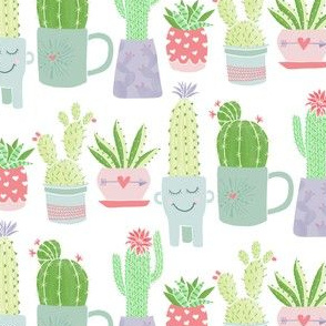 Sweet Potted Cactus by Angel Gerardo