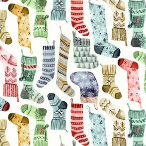 Christmas Socks and Stockings by Angel Gerardo