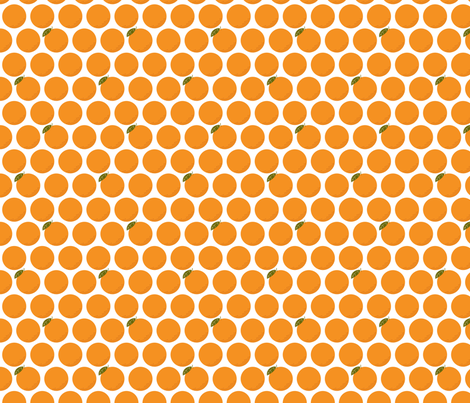 Just Oranges fabric by michalwright-ward on Spoonflower - custom fabric