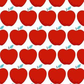 Little Baby Apples, Just Apples - Light Blue