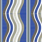 WAVEB-SADB Sage Green / Dazzling Blue
