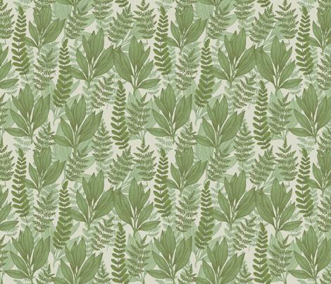 Wild plants fabric by adehoidar on Spoonflower - custom fabric