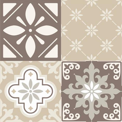 Catalina Tiles fabric by delinda_graphic_studio on Spoonflower - custom fabric