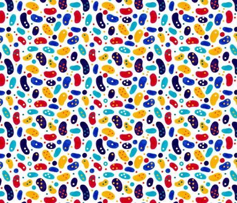 Memphis 3 fabric by jadegordon on Spoonflower - custom fabric