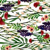 Wild Flower Watercolors