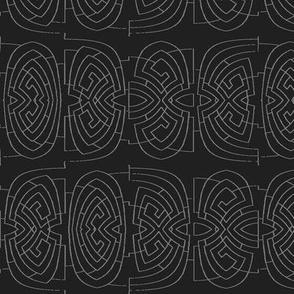 Pontius Lines (Black)