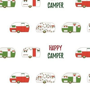 Christmas Happy Camper