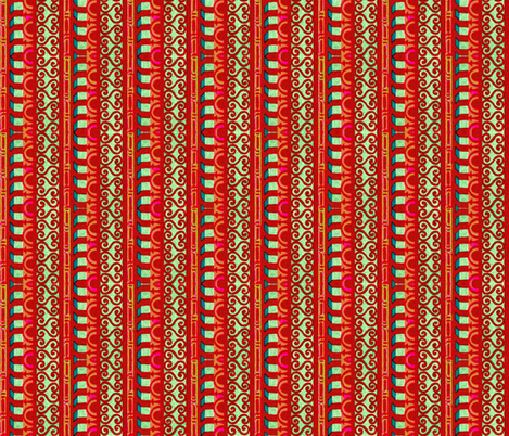 byzantine 63 fabric by hypersphere on Spoonflower - custom fabric