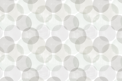 Huge Watercolor Dots Grey Hues by Friztin fabric by friztin on Spoonflower - custom fabric