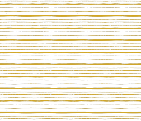 orange_crayon_stripe fabric by nikalola on Spoonflower - custom fabric