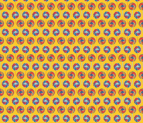 Circus_Lollipops sunshine fabric by colour_angel_by_kv on Spoonflower - custom fabric